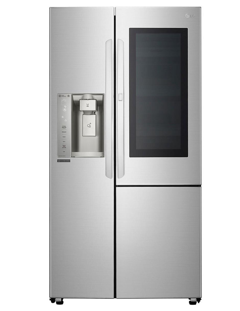 Refrigerador LG Instaview 26 pies cúbicos gris GS73SXS Precio ...