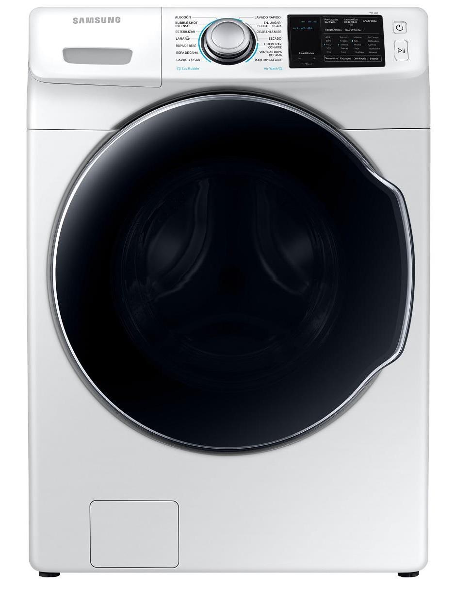 Derechos de autor Más grande biografía  Lavasecadora Samsung 18 kg blanca WD18N7200KW/AX en Liverpool